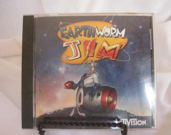 Vintage Earthworm Jim Computer Game