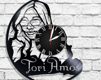 Tori Amos singer design wall clock, Tori Amos wall poster