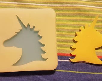 Stampo/ mold lucido unicorno