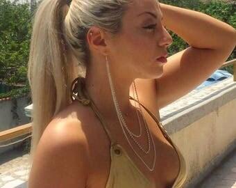 Cassandra earring piece