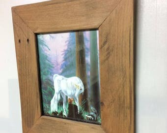 8x10 Oak Frame with Glass