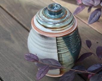 stoneware jar or urn