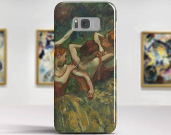 "Edgar Degas, ""Four Dancers"". Samsung Galaxy S6 Case LG G5 case Huawei P9 Case Galaxy A5 2017 Case and more. Art phone cases."