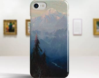 "Sydney Laurence, ""Mount McKinley"". iPhone 8 Case Art iPhone 7 Case iPhone 6 Plus Case and more. iPhone 8 TOUGH cases. Art iphone cases."