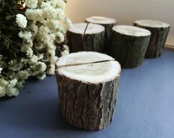 10 pcs wood card holder wood table number holder Wooden Card Holder Business card holders Card holder Wooden table humber holders wood