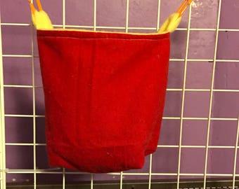 Sugar glider cage pouch custom
