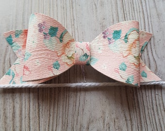 Floral  Lace Hair Bow