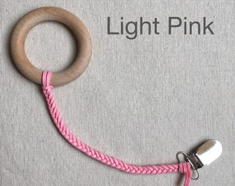 Light Pink Soother Clip