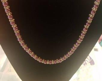 purple wedding jewelry