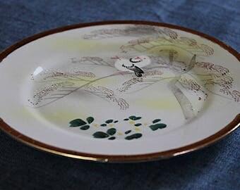 Japanese Eggshell Porcelain Plate