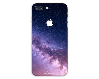 Galaxy iPhone Skin stars iPhone Sticker Case space iPhone Decal Nebula iPhone 7  plus iPhone 6 iPhone 6s 6 plus 5 5s SE PS017