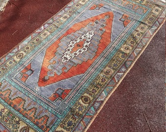 Floor rugs Home Decor Home Living Oushak Rug Handmade wool Rug,Area Rug,3'4''x5'9''feet,Vintage Rug, Wool Rug, Turkish Rug,Art Rug,Rugs