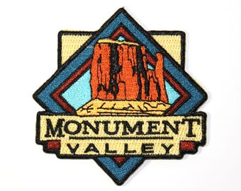 Monument Valley Souvenir Patch Iron-on FREE SHIPPING