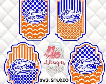 Florida Gators SVG, Silhouette studio bundle - 4 design download