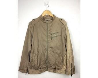 KANSAI JEANS Jacket Medium Size Jacket Fully Zipper Made In Japan
