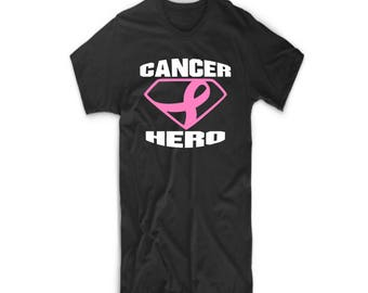 Breast Cancer Hero Awareness Ribbon T Shirt