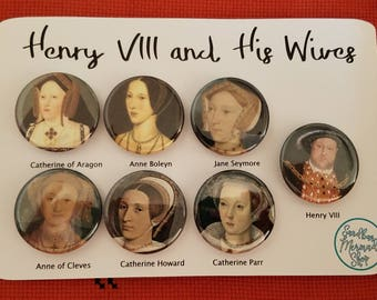 Henry Viii and Wives Set