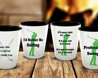 Golf Shot Glass Set