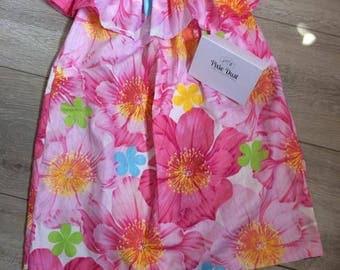 girls off the shoulder dress, floral print dress, ruffle neck dress, summer dress, bright summer, girla dresses, birthday outfit, flowers