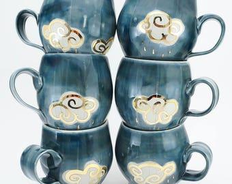 Rainy Day Pottery Mug