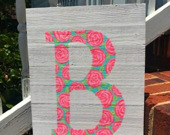 Custom Wood Letter Sign