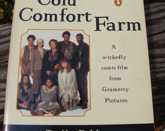 COLD COMFORT FARM by Stella Gibbons (1996) ~ Paperback ~ Wickedly Funny 1930s English farm