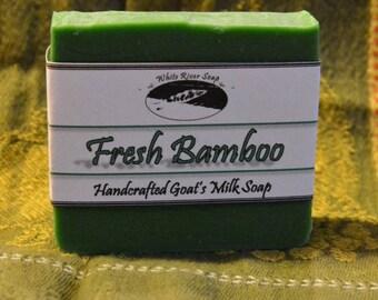 Goats Milk:  Fresh Bamboo