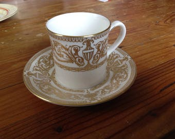 Royal Worcester coffee cup and saucer