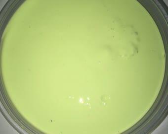Key lime pie slime  (medium)
