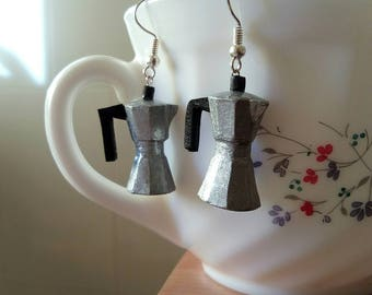 Coffee maker Earring Earrings