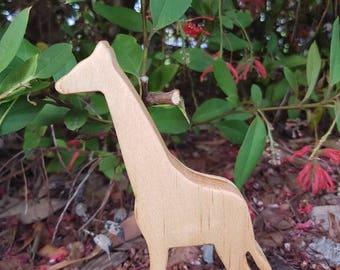 Handmade Giraffe Toy