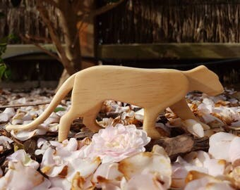 Handmade Big Cat Toy (Leopard, Lioness, Jaguar, Puma)
