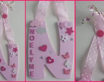 Letter wall name: NOELYNE