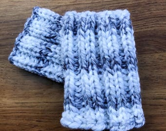 Thick Ribbed Boot Cuff   Boot Cuff   Chunky Knit Boot Cuff   Knit Boot Cuff   Boot Toppers   Leg Warmers   Boot Warmers   MADE TO ORDER