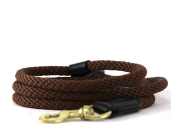 Brown Rope Dog Leash