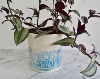 Ceramic Plant Pot, Planter, Plant lovers gift