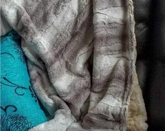 Platinum Minky blanket