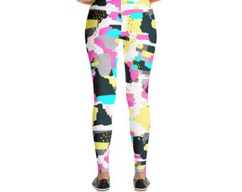 Abstract Doodle Leggings
