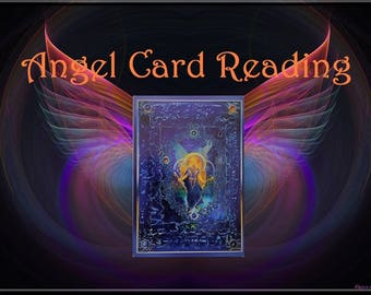 Angel Card Reading, Via PDF, Clairvoyance, Psychic Reading, Tarot 2 questions, 24Hr