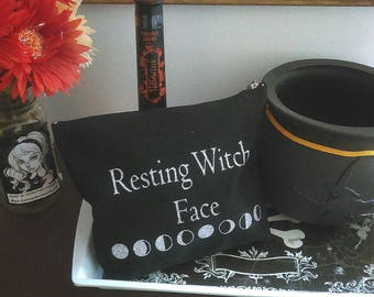 "Make-Up Bag ""Resting Witch Face"""