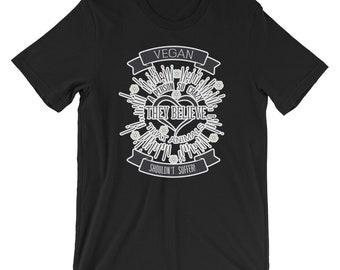 Crazy Vegan T Shirt, Vegan Shirt, Vegan Tee, Vegan T-Shirt, Vegan Pride
