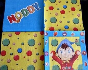 Noddy napkin
