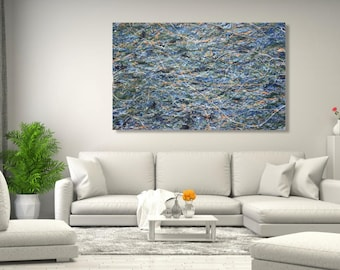 """36"""" x 36"""" X-large abstract painting"""