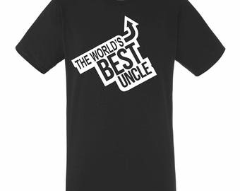 Best Uncle Mens / Womens T-shirt High Quality Fashion Style Hand Crafted Apparel Bulk Orders Discounts !