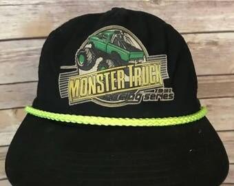 Vintage 90s Monster Truck Racing Series Hat