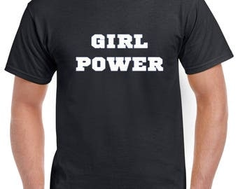 FEMINIST GIRL Power T Shirt Smash The PATRIARCHY The Future Is Female Feminism