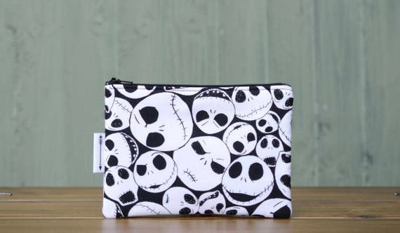 Nightmare before christmas zipped pouch