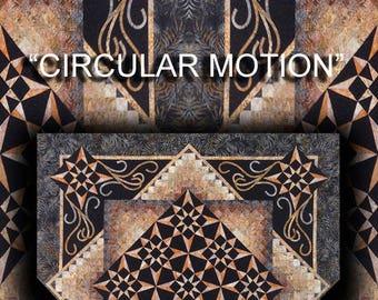 Circular Motion Quilt Pattern Digital File Download