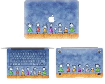For macbook front sticker macbook pro front skin macbook sticker macbook air sticker