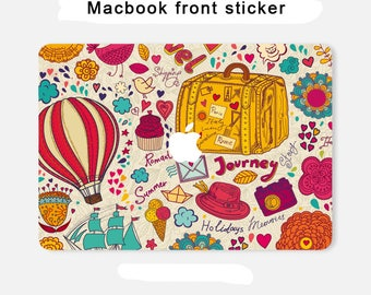 macbook front sticker macbook pro front skin macbook sticker macbook air decal